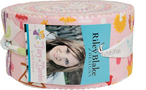 Jelly Roll Design (Lori Whitlock RP-7720-40 Rolie Polie 40 Streifen Jelly Roll Riley Blake Designs)
