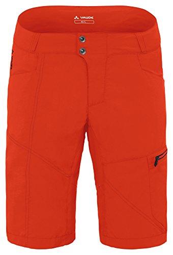 VAUDE pantalon pour homme tamaro men's short Orange - Rouge fluorescent
