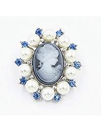 68d7182cfb59 longsw Mode perla dama Cru camafeo estilo victoriano fiesta de boda broche  broche