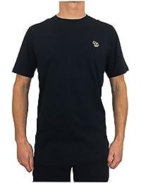 Paul Smith PS Men's Crew Neck Zebra T-Shirt Dark Navy