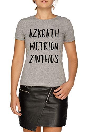 Azarath Metrion Zinthos - Teen Titans Damen Grau T-Shirt Größe S | Women's Grey T-Shirt Size S