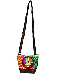 The Great Indian Mela Colorful Pagdi Messenger Sling Bag