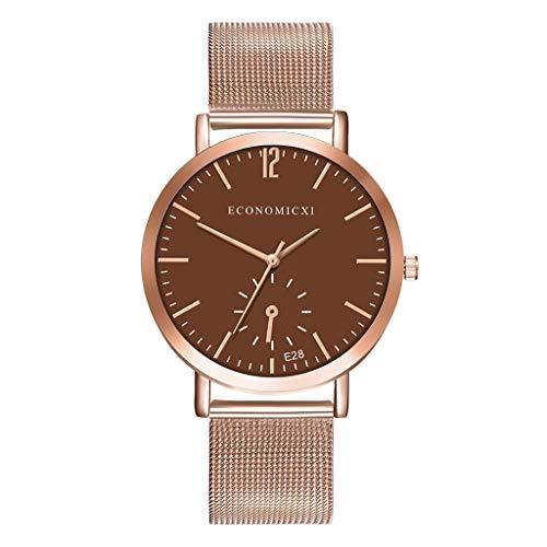 SHE.White Damen Uhren Minimalistisches Damenuhren Ultra Slim Armbanduhr Lässige Rund Armbanduhren