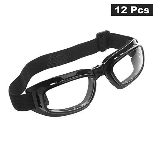 Gafas Seguridad 12 piezas - Plegable Gafas Protectoras