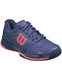 Wilson WRS323040E080, Zapatillas de Tenis para Mujer, Varios Colores (Multicolor / Astral Aura / Evening Blue / Fiery Cora), 42 EU