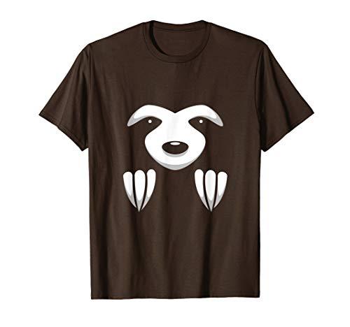 Ghost Kostüm Weihnachtsgeschenk - Lustige Sloth Kostüm Halloween Weihnachtsgeschenk Kinder T-Shirt