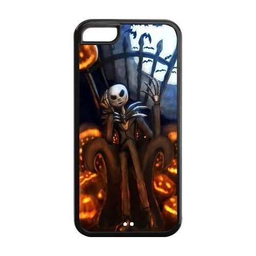 Customize Cartoon Nightmare Before Christmas Back Case for iphone 5C JN5C-1687