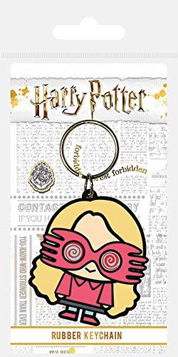 Harry Potter - Luna Lovegood Chibi, Schlüsselanhänger aus Gummi, 4.5 x 6 cm