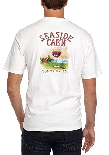 Tommy Bahama Seaside Cab'n Medium White T Shirt -