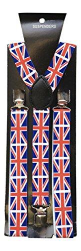Sock Snob - Bretelles - Homme Multicolore Multicoloured Taille unique Union Jack