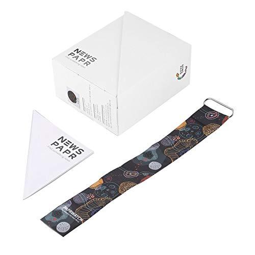 Personalisierte Papier Uhr Life Waterproof Paper Strap Magnetverschluss Schnalle Ultra Light LED Digitaluhr für Männer Frauen - Multicolor