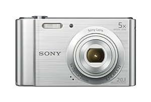 Sony W800/S 20 MP Digital Camera (Silver)