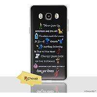 iCHOOSE Cita de Disney Funda/Cubierta del Teléfono para Samsung Galaxy J5 2016 / Silicona Suave de Gel/TPU / iCHOOSE / Líneas de Películas