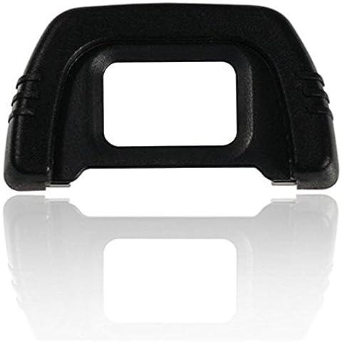 Generic (2-Pack) di ricambio in gomma DK-21oculare oculare per Nikon D200D80D90D70D50D610, D750, D7000