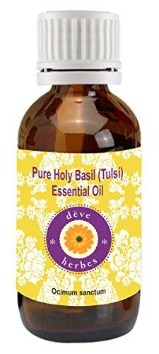 Pure Holy Basil (Tulsi) Essential Oil 10ml (Ocimum sanctum) 100% Natural Therapeutic Grade -