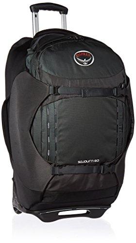 Osprey Sojourn 60 Unisex Convertible Wheeled Travel Pack - Flash Black (O/S)
