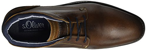 s.Oliver 15101, Oxfords Homme Marron (Cognac 305)
