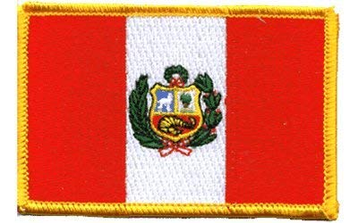 The Flag of PERU Patch parche