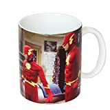 SD toys - The Big Bang Theory, Disfraz Flash Protagonistas, taza de cerámica (SDTWRN27489)