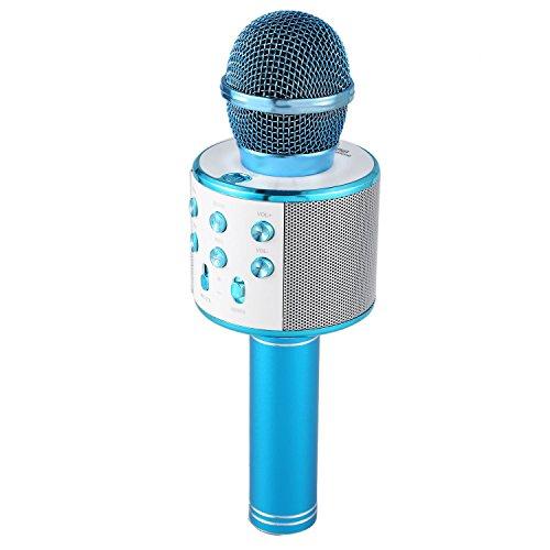 REFURBISHHOUSE Microfono de Karaoke inalambrico Mini KTV en casa Bluet