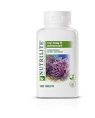 Amway New Nutrilite Advanced Cal Mag D - 180 Tablets  available at amazon for Rs.8434
