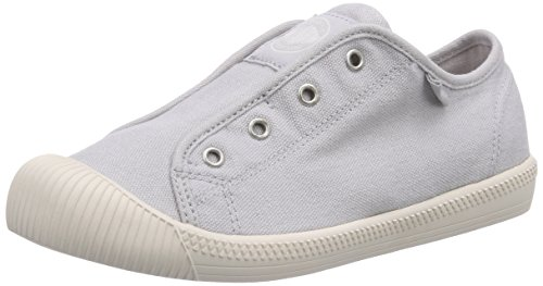 Palladium FLEX SLIP-ON Unisex-Kinder Sneakers Grau (LUNAR ROCK/MRSHMLLW 081)