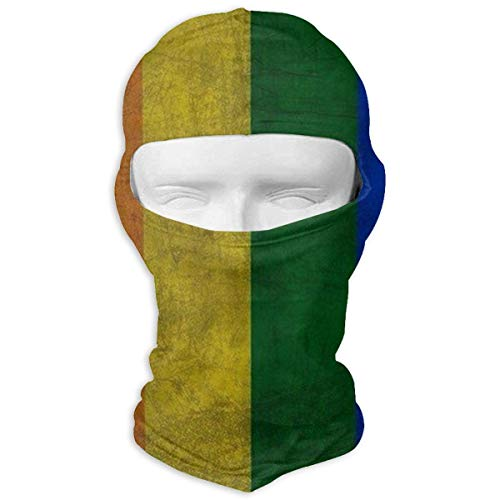 Bikofhd Vintage Gay Flag Balaclava Full Face Mask Hood Windproof Ski Face Mask Balaclava Face Mask Unisex2