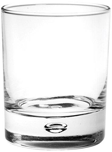 Unbranded 301022gedrungene Zahnputzbecher, Glas, transparent, 33cl, 6Stück - Glas-zahnputzbecher