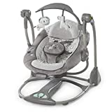 CWLLWC Babywippe,Elektrische Baby Schaukelstuhl drehbaren Spielzeug Rack Electric Music ruhig magnetisch Sinn Schaukelstuhl