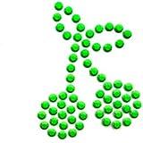 5.ZERO ® 1 Pieza diseño de brillantes Iron-On Hotfix Transferencia mm 30x25