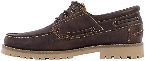POLO CLUB , Chaussures bateau pour homme - marron -