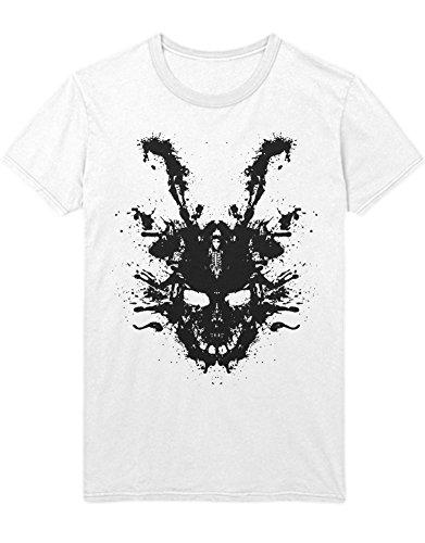 Hypeshirt T-Shirt Donnie Darko Frank C112254 Weiß XXL