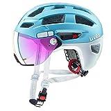 Uvex Finale Visor City Trekking Fahrrad Helm blau 2019: Größe: 56-61cm