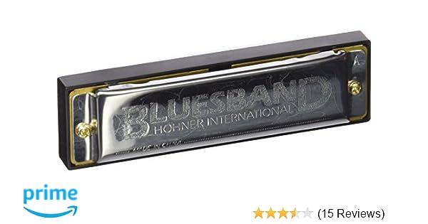 Key A M55910X Enthusiast Series Diatonic Hohner  /'Blues Band/' Harmonica