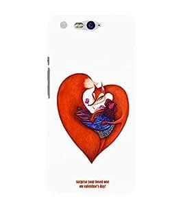 EPICCASE V-DAY Love Mobile Back Case Cover For InFocus M812 (Designer Case)
