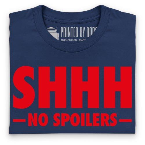 Shhhh T-Shirt, Damen Dunkelblau