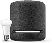 Echo Studio bundle with Philips Hue smart bulb