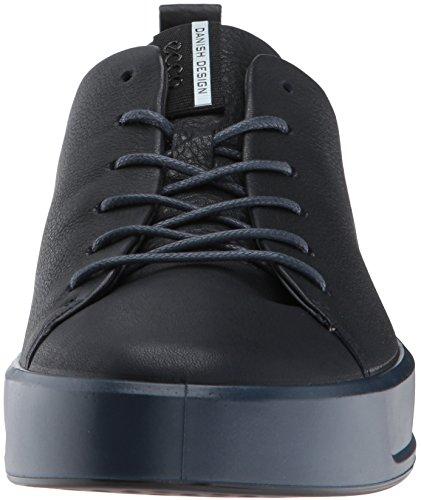 Ecco Soft 8 Mens, Sneakers Basses Homme Bleu (Night Sky)
