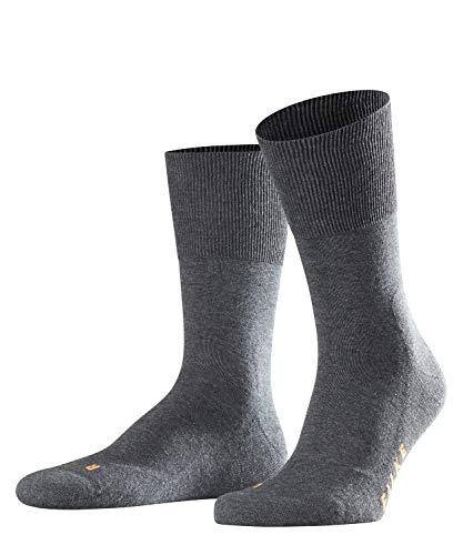 FALKE Unisex Socken Run, Baumwollmischung, 1 Paar, Grau (Dark Grey 3970), Größe: 39-41 -