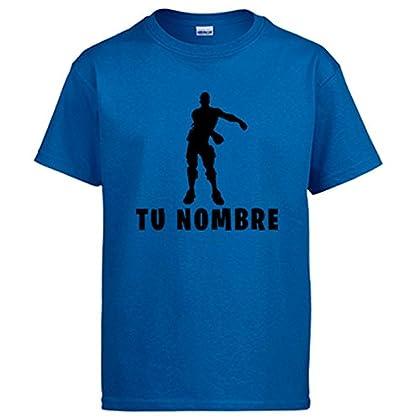 Camiseta Fortnite Pose Floss Baile Backpack Kid...