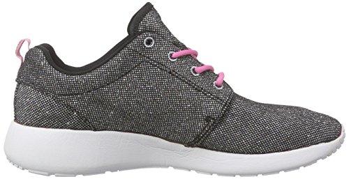 L.A. Gear Sunrise, Sneakers basses femme Schwarz (Black-Pink 01)