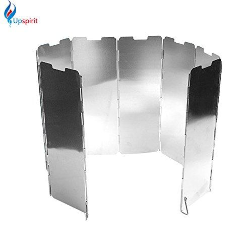 Generic Generic 8platos plegable Camping de aleación de aluminio vi