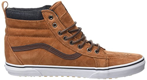 Vans Unisex-Erwachsene SK8-Hi MTE High-Top Braun (MTE glazed ginger/plaid)