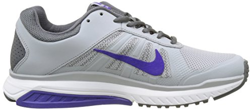 Nike 831535-015, Sneakers trail-running femme Gris (Wolf Grau/fierce Purple)