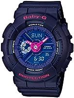 Casio Baby-G - Damen-Armbanduhr mit Analog/Digital-Display und Resin-Armband - BA-110PP-2AER