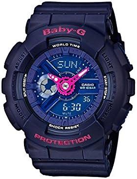 Casio Baby-G Damen Uhr Analog/Digital Quarz mit Resinarmband BA-110PP-2AER