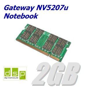 2GB Speicher / RAM für Gateway NV5207u Notebook