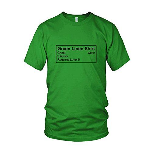 Shirt Item - Herren T-Shirt, Größe: XXL, Farbe: (King Lich Kostüm Rüstung)