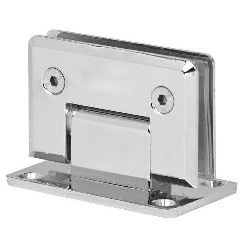 duschtuer klappbar Chrom 10mm Glastür Scharnier Duschtür Türbeschlag Band Türbeschläge Beschlag