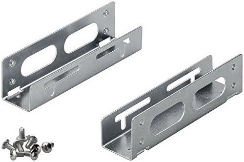 """Preisvergleich Produktbild Goobay - Speichereinschubadapter - 13.3 cm to 8.9 cm ( 5,25"""" bis 3,5"""" ) - Grau, Silber"""